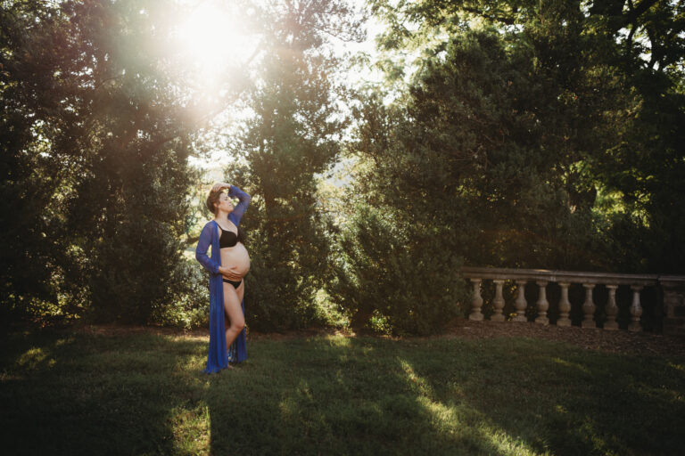 Bare Belly Maternity Photos