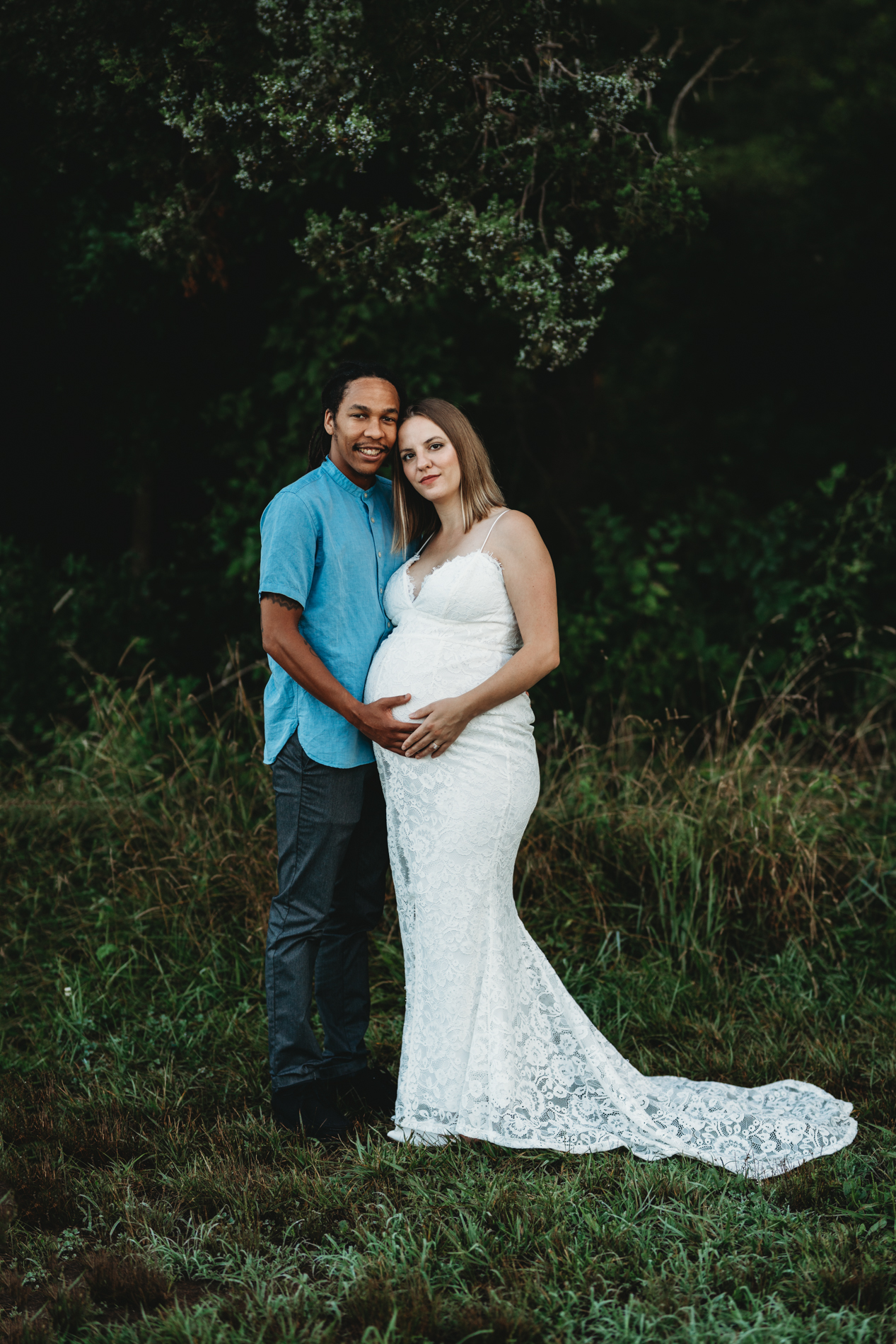 northern virginia glamorous maternity photos pregnancy gown