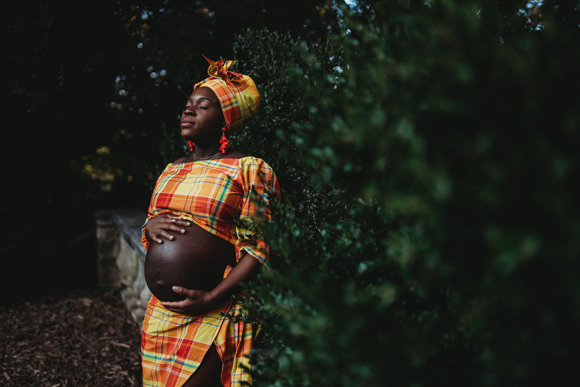 traditional dress bare belly maternity photos pregnancy photography