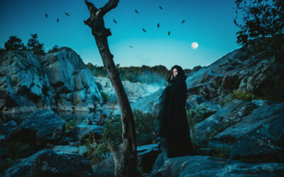Maryland Creative Photographer – Spooky Halloween Photoshoot